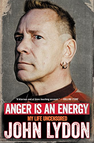 9780062400239: Anger Is an Energy: My Life Uncensored