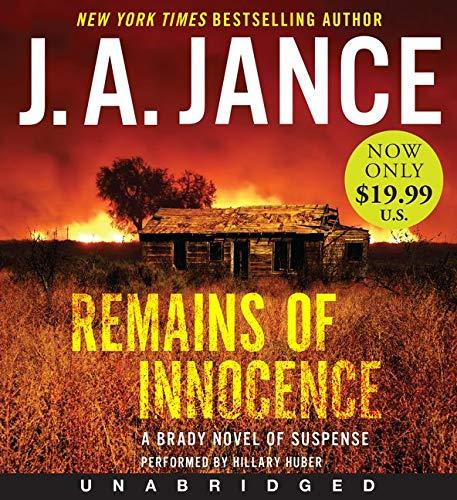 9780062400932: Remains of Innocence Low Price CD: A Brady Novel of Suspense (Joanna Brady Mystery)