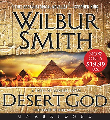 9780062401045: Desert God Low Price CD: A Novel of Ancient Egypt