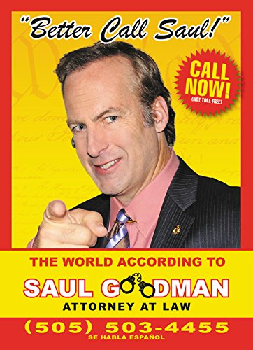 9780062404541: Better Call Saul: The World According to Saul Goodman