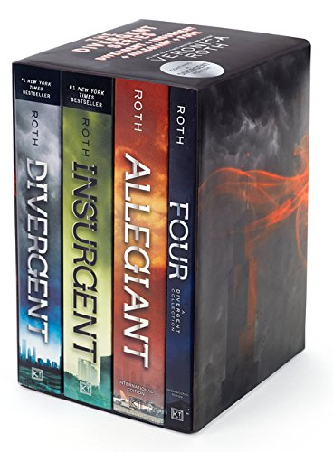 9780062406095: Divergent Series Ultimate Paperback Box Set: Divergent, Insurgent, Allegiant, Four