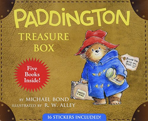 PADDINGTON TREASURE BOX (Hardback): Michael Bond