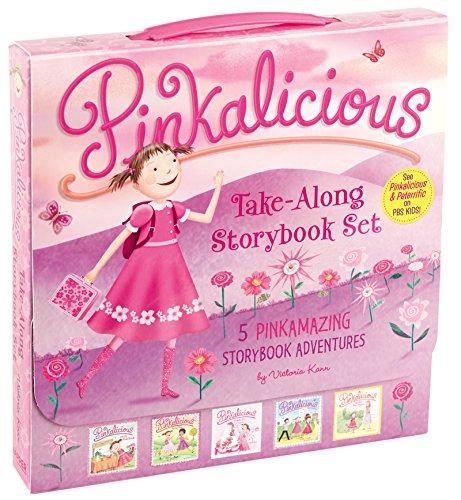 9780062410801: The Pinkalicious Take-Along Storybook Set: 5 Pinkamazing Storybook Adventures