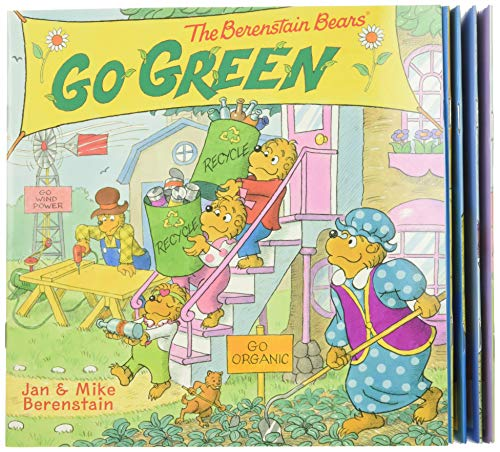9780062411556: The Berenstain Bears Take-Along Storybook Set: Dinosaur Dig, Go Green, When I Grow Up, Under the Sea, The Tooth Fairy