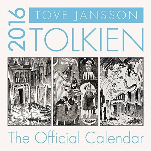 9780062419125: Tolkien Calendar 2016