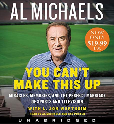 9780062420367: You Can't Make This Up Low Price CD: Miracles, Memories, and the Perfect Marriage of Sports and Television