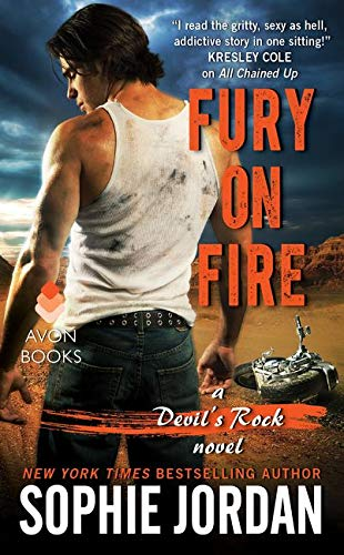 9780062423757: Fury on Fire: A Devil's Rock Novel