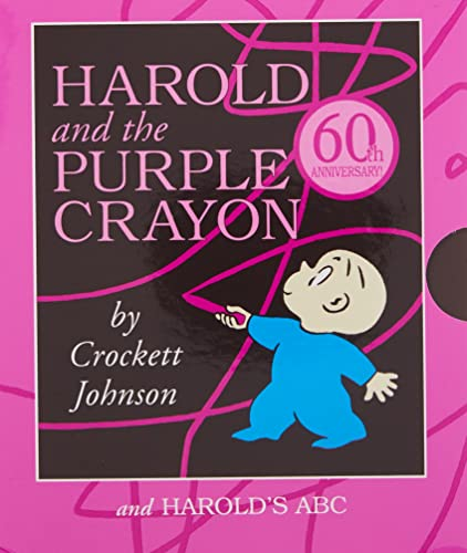 9780062427328: Harold and the Purple Crayon Board Book Box Set: Harold and the Purple Crayon and Harold's ABC