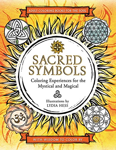 9780062434258: Sacred Symbols: Coloring Experiences for the Mystical and Magical