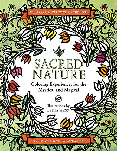 9780062434388: Sacred Nature: Coloring Experiences for the Mystical and Magical (Coloring Books for the Soul)