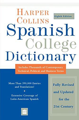 9780062439857: HarperCollins Spanish College Dictionary 8th Edition