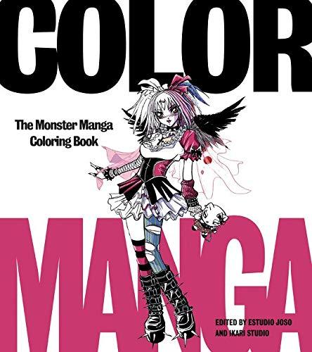 Color Manga: The Monster Manga Coloring Book: Estudio Joso