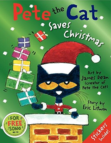 9780062442406: Pete the Cat Saves Christmas