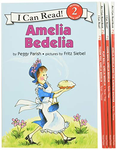 9780062443564: Amelia Bedelia I Can Read Box Set #1: Amelia Bedelia Hit the Books (I Can Read Level 2)