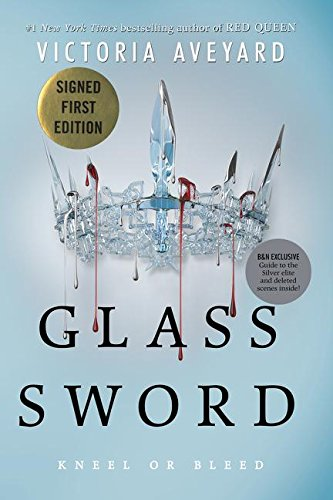 9780062456175: Glass Sword (Signed Edition) Red Queen Series #2