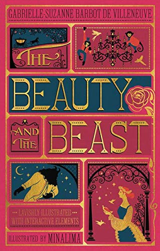 9780062456212: The Beauty and the Beast (Illustrated with Interactive Elements) [Lingua inglese]