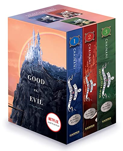9780062456243: The School for Good and Evil Series Complete Paperback Box Set: Books 1-3