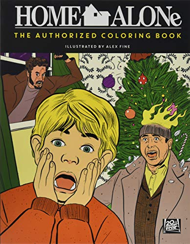 9780062493019: Home Alone. The Authorised Colouring Book