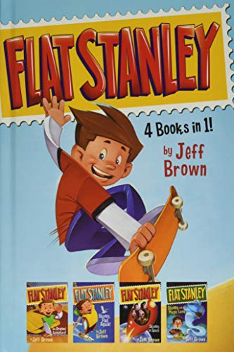 9780062496706: Flat Stanley: 4 Books in 1!: Flat Stanley, His Original Adventure; Stanley, Flat Again!; Stanley in Space; Stanley and the Magic Lamp
