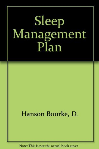 9780062501134: Sleep Management Plan