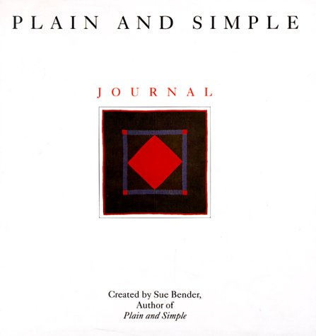 9780062501295: Plain and Simple Journal: A Journey to the Amish