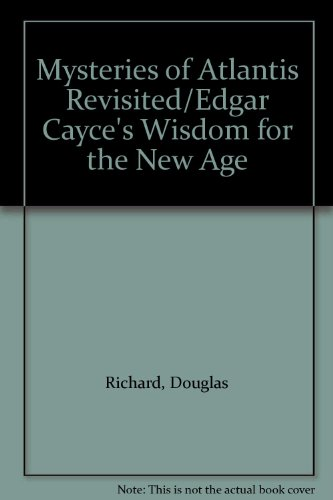 9780062501424: Mysteries of Atlantis Revisited/Edgar Cayce's Wisdom for the New Age