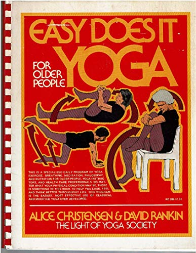 9780062501455: Easy Does It Yoga for Older People