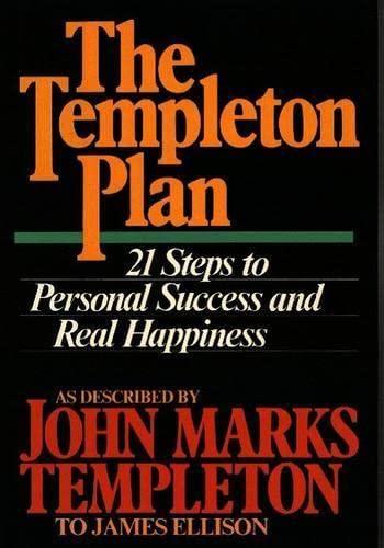 9780062502865: The Templeton Plan