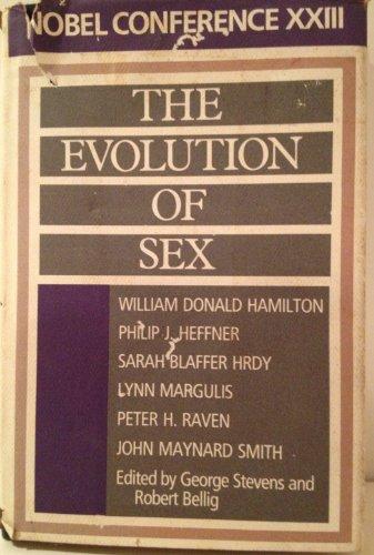 9780062502919: Evolution of Sex: Nobel Conference Xxiii
