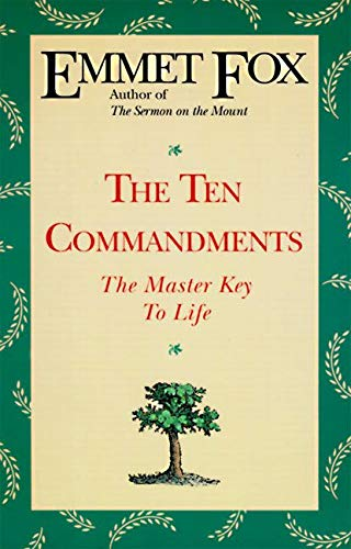 9780062503077: The Ten Commandments: The Master Key to Life