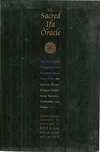 9780062503091: The Sacred Ifa Oracle