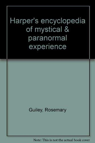 9780062503657: Harper's encyclopedia of mystical & paranormal experience