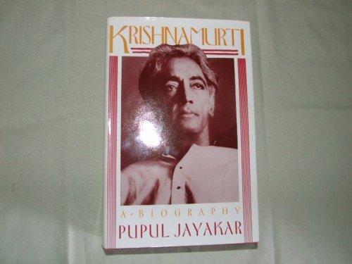9780062504012: Krishnamurti: A Biography