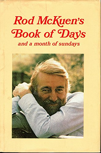 9780062505699: Rod McKuen's Book of Days and a Month of Sundays