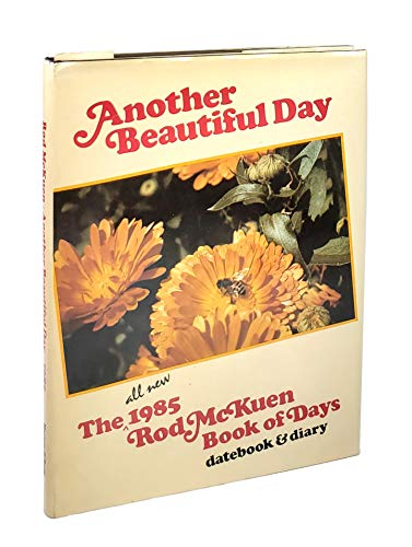 9780062505804: Another Beautiful Day: The All-New 1986 Rod McKuen Book of Days, Databook & Diary