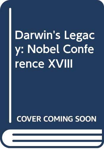 9780062506511: Darwin's Legacy: Nobel Conference XVIII