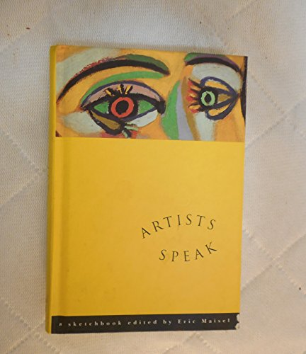 9780062508805: Artists Speak: A Sketchbook