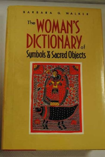 9780062509222: Womens Dictionary Symbols&Sacred