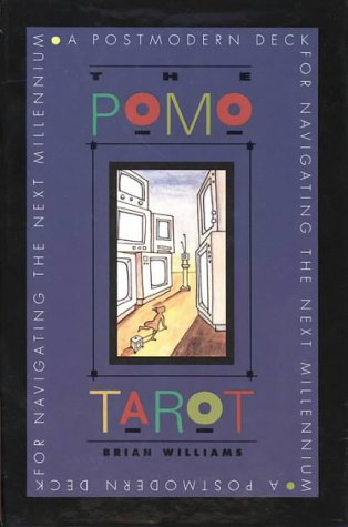 9780062509659: The Pomo Tarot: A Postmodern Deck for Navigating the Next Millennium