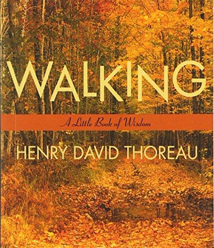 9780062511133: Walking: A Little Book of Wisdom (Little Books of Wisdom)