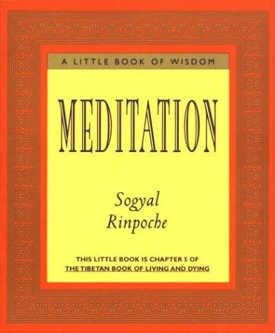 9780062511140: Meditation (Little Books of Wisdom)