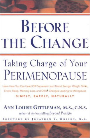 9780062515391: Before the Change: Taking Charge of Your Perimenopause