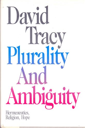 9780062547422: Plurality and ambiguity