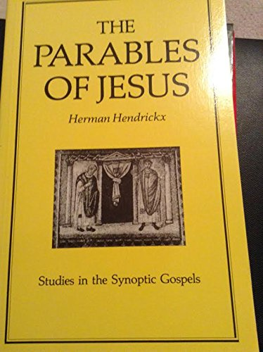 9780062548153: The Parables of Jesus (Studies in the Synoptic Gospels)