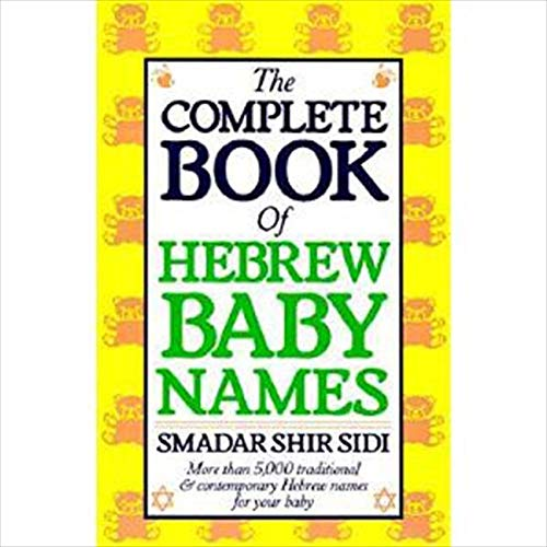9780062548504: The Complete Book of Hebrew Baby Names