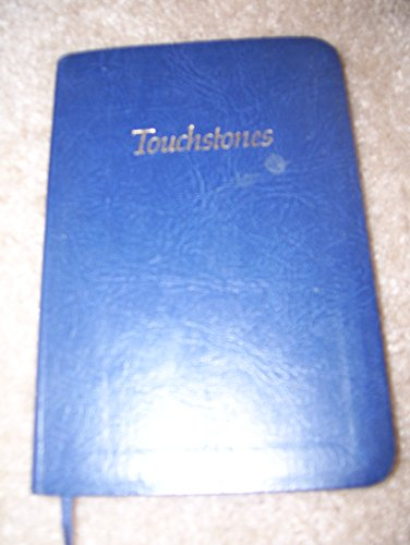 9780062553232: Touchstones: A Book of Daily Meditations for Men