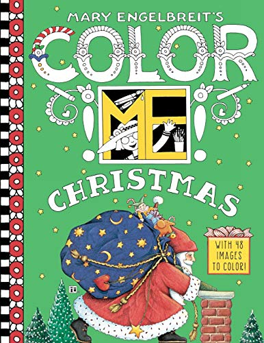 9780062562609: Mary Engelbreit's Color ME Christmas Coloring Book
