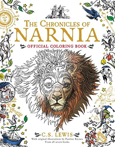 9780062564771: The Chronicles of Narnia Official Coloring Book