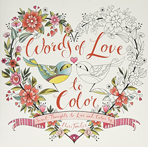 Words of Love to Color: Sweet Thoughts: Eleri Fowler