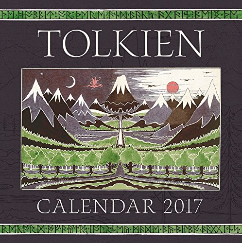 Tolkien Calendar 2017 (Wall)